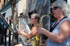 Démonstration de saxophone